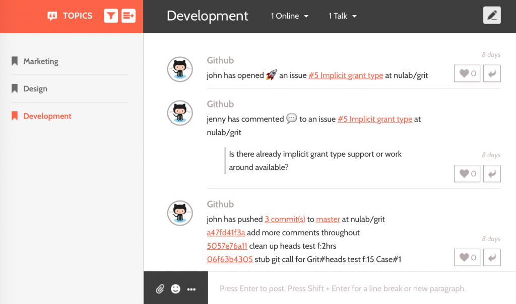 Github Integration Sample