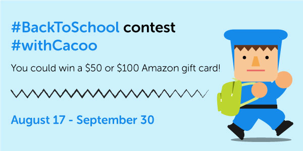 Back to School contest with Cacoo