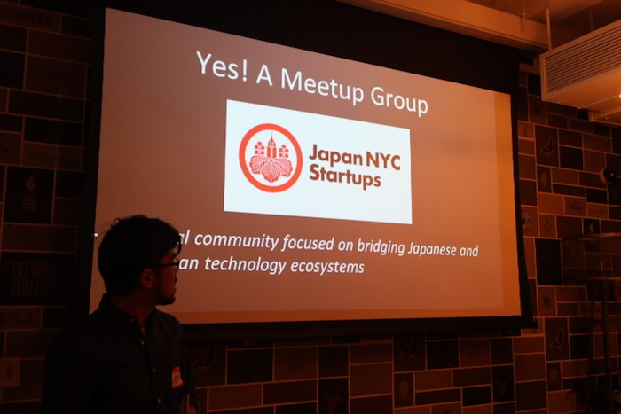 """Japan NYC Startups"" that Masa started with his friend from February 2015."