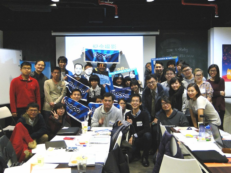 in 2015 DEC for Cacooup wireframe workshop