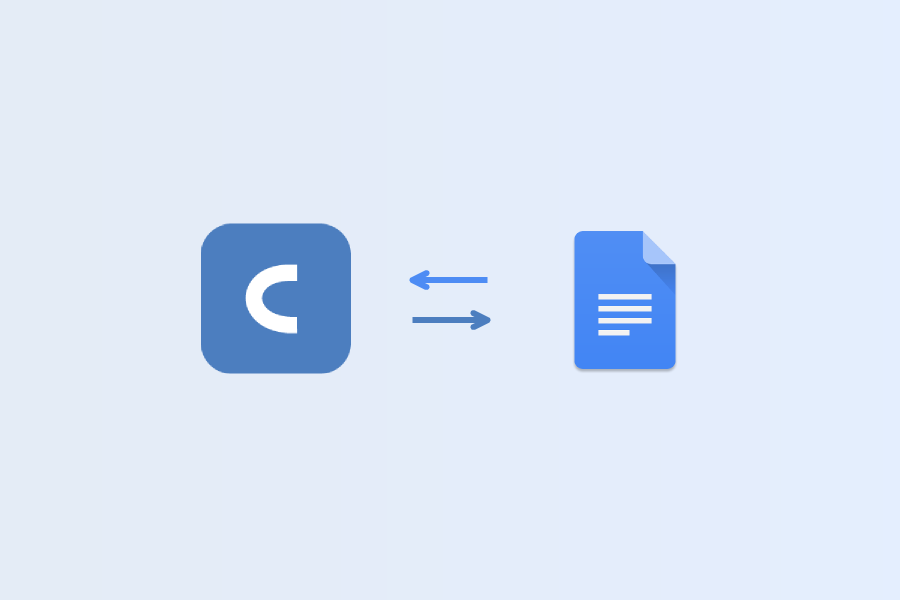 Cacoo's latest & greatest integration? Google Docs!