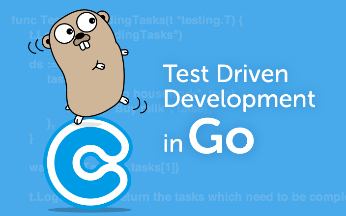 Test driven development in Go