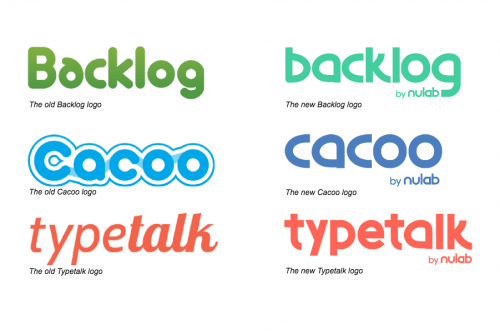 New/Old Product Logos