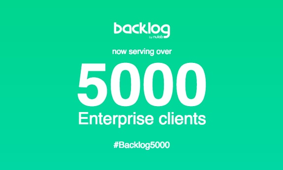 [INFOGRAPHIC] Backlog reaches 5,000 Enterprise clients!