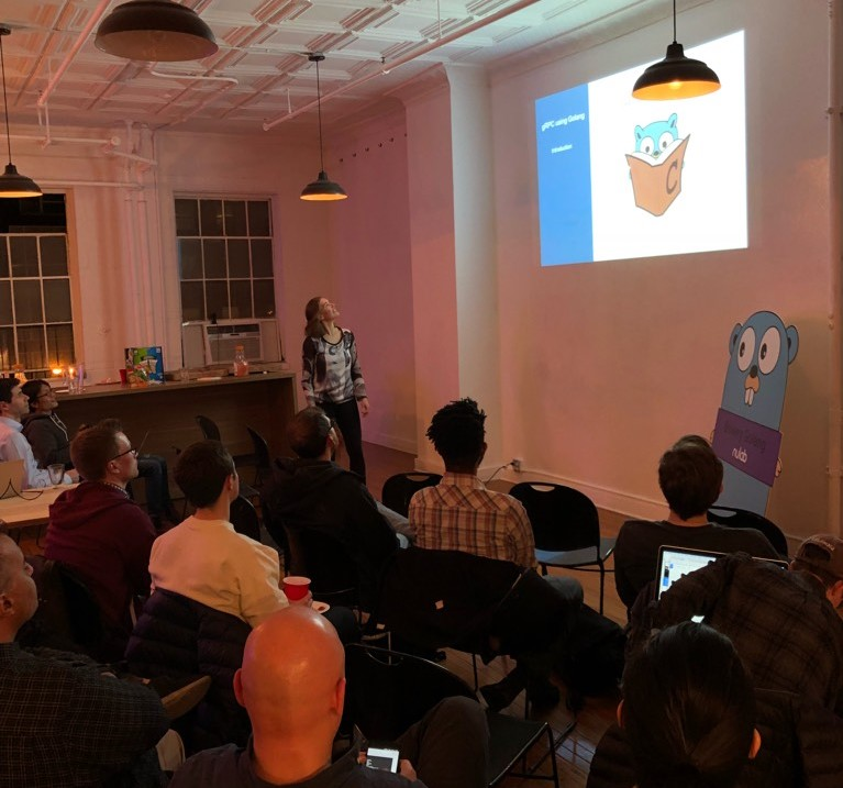 second speaker at bowery golang