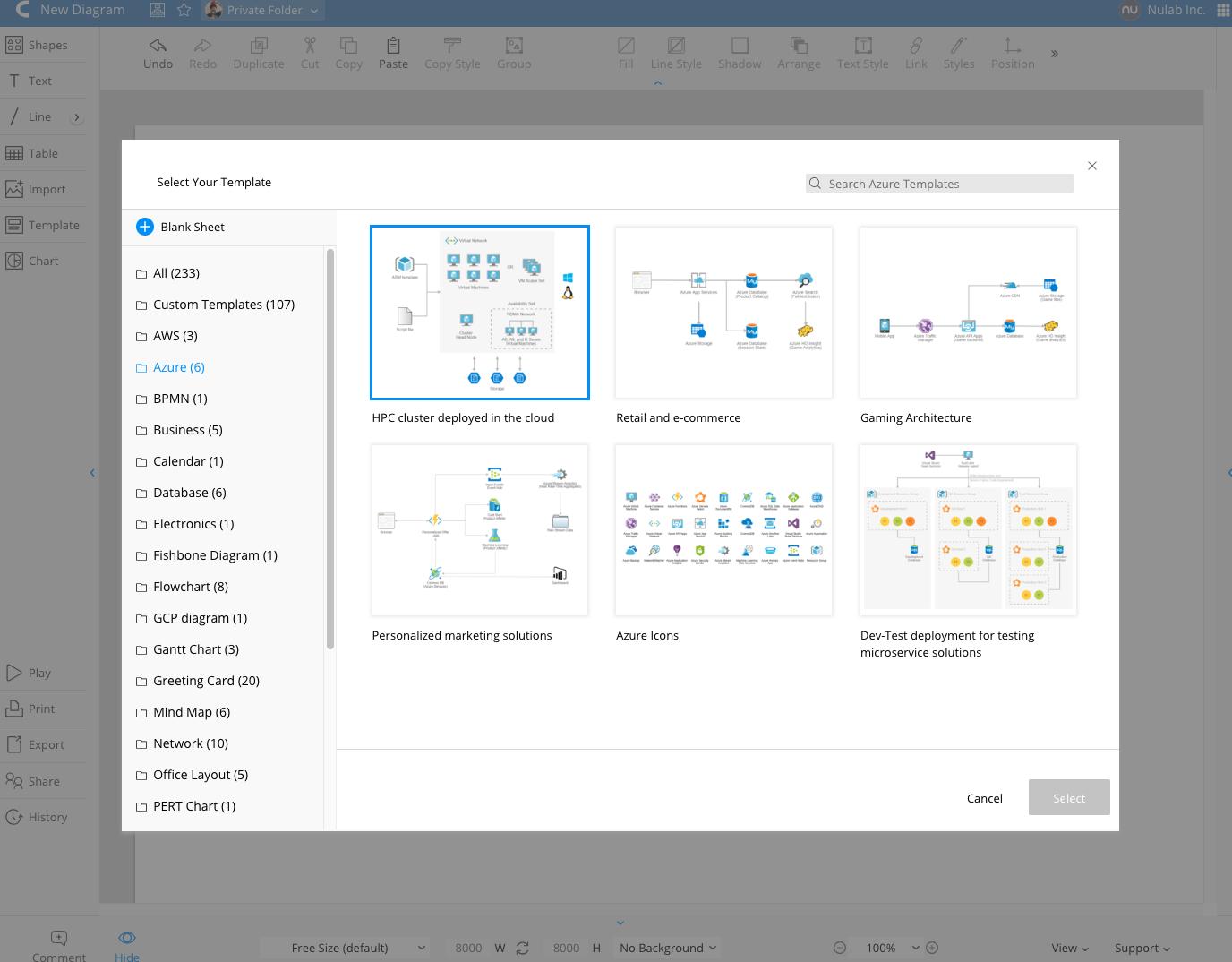 Azure templates