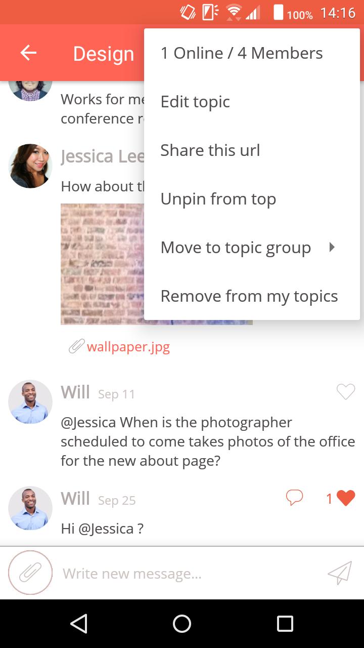 Typetalk_Show topic members