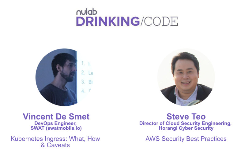 Nulab Drinking Code May 2019 speakers