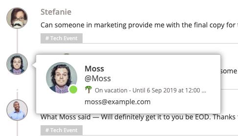 Moss status