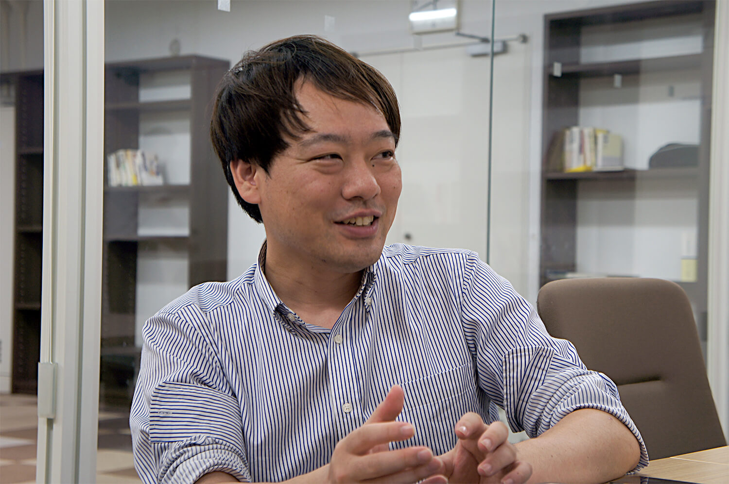 Hiroki Yoshida, Deputy Director, IT Project Office, Commerce and Information Bureau.