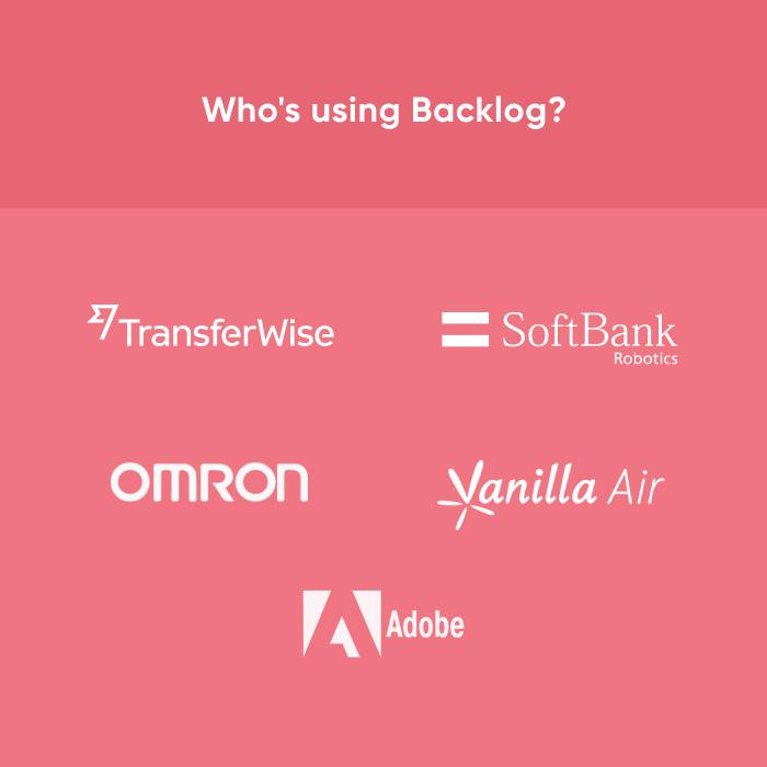 Backlog - Notable customers