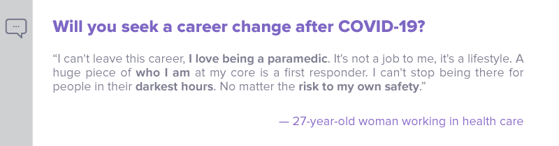 Q2 - Will you seek a career change after COVID-19 - Nulab blog