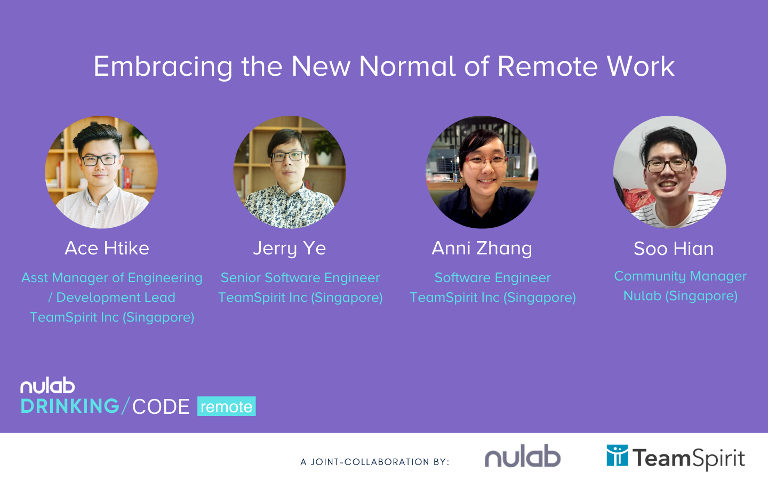 Nulab TeamSpirit Remote Work webinar speakers