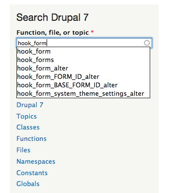 drupal.org api reference